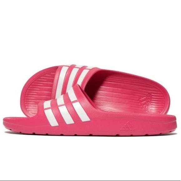 Adidas Duramo Slides Sandal Pink 9a3a280dfd